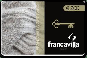 Francavilla Moda Abbigliamento Roma gift card 200 euro